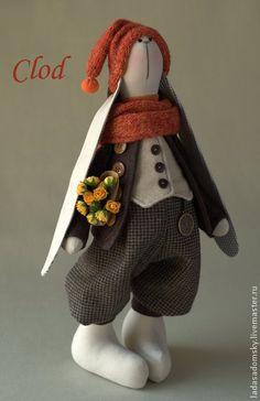 Игрушки животные, ручной работы. Ярмарка Мастеров - ручная работа Заяц Clod - 39 см. Handmade.