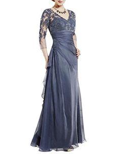 MIGUOO Grey Mother Of The Groom Dresses Women Party Long US Size 6 SKU701104 MIGUOO http://www.amazon.com/dp/B00P8IFX06/ref=cm_sw_r_pi_dp_apnOub1B47JJ2
