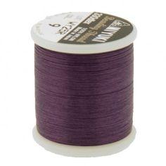 Fil nylon Miyuki 0,25mm violet prune (x50m)  Référence 8413-09 Bobine de 50 mètres de fil nylon monofilament, de la marque Miyuki, couleur violet prune (code couleur 09) épaisseur 0,25mm (size B) Très résistant, ce fil Miyuki de qualité convient parfaitement pour tisser des perles