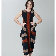Vogue 1234 jurk Sandra Betzina