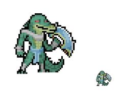 Sprite - League of Legends - Renekton by Eviscus.deviantart.com on @deviantART