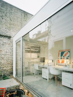 Small Studio.: Architect: Elding Oscarson.