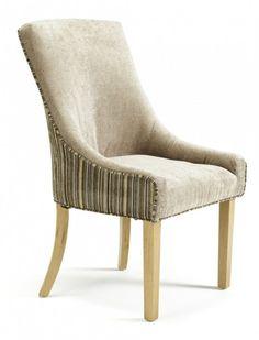 Serene Richmond Mink Fabric Dining Chair