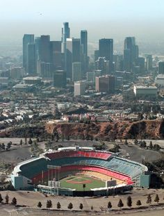 Dodger Stadium, Dodgers- Los Angelas, CA