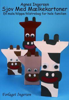 Temaet for denne bog er mælkekartoner, der går igen i alle modellerne. Figurerne er enkle at fremstille ud fra bogens arbejdsbeskrivelser og håndtegnede skabeloner i fuld størrelse. Næsten alle modeller er lavet i forskellige størrelser, så kan man vælge den størrelse, man har mælkekartoner i. Alle