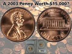 Did You Know... In 2003, a business strike Lincoln Cent minted in Philadelphia, received a perfect grade of MS-70 from PCGS, that was considered so rare and unlikely out of the 3.3 billion minted… that collectors bid the coin up to $15,000 when it went up for auction in 2008. How could a modern penny be worth so much? Because in the current online marketplace for coins, there are a lot of deep-pocketed collectors competing to have the highest rated registry set.