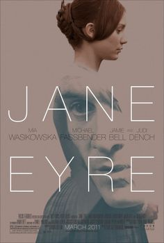 Jane Eyre Movie Poster  Love the washed out colors and that her has the image of the face on it.  Ethereal feel to it.