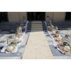 Vintage φανάρια και κλουβιά στολισμένα με άνθη στον προαύλιο χώρο του ιερού ναού. Diy Wedding, Table Decorations, Furniture, Home Decor, Vintage, Decoration Home, Room Decor, Home Furnishings, Vintage Comics
