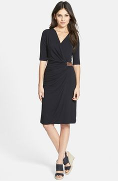 Tommy+Bahama+'Tambour'+Beaded+Faux+Wrap+Dress+available+at+#Nordstrom