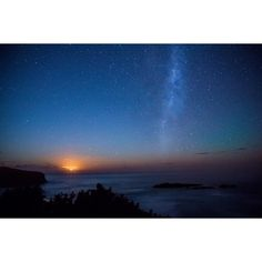 On instagram by bjw_softy #astrophotography #contratahotel (o) http://ift.tt/2o7JNZA #moon rising blocking out the #auroraaustralis from being seen from smails beach #dunedin . Makes for a good #milkyway #photo though!  #aurora #stars #nightphotography  #photography