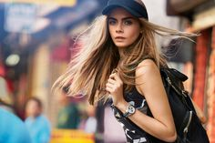 DKNY Spring 2013 Campaign featuring Cara Delevingne