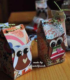 Bastelfrosch´s Kreativseite: *Milch ist drinnen* mit Workshop Mini Milk, Carton Box, Workshop, Boxes, Gift Wrapping, Diy Crafts, Gifts, Ideas, Tote Bags
