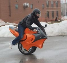 ¿Estabas buscando moto una rueda ?