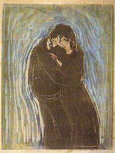 Munch's Kiss - Google Search #Munch