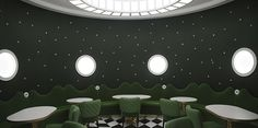 The French Luxury Bakery Ladurée Quai des Bergues  Design Gallerist - Discover the season's rare and unique design ideas. Visit us atwww.designgallerist.com/blog/#DesignGallerist #uniquedesignideas #contemporarydesign @designgallerist
