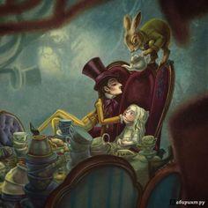 Иллюстрация 5 из 37 для Алиса в Стране чудес - Льюис Кэрролл | Лабиринт - книги. Источник: isakinwow