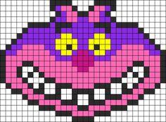 Cheshirecat Perler Bead Pattern | Bead Sprites | Characters Fuse Bead Patterns