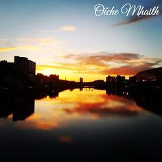 Good Night From Ireland  This shot of Cork at sunrise was taken by @sadiefitz