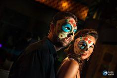 Bridal handmade masks.