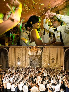 Go Out With A BANG!!  Love these wedding exit ideas via StyleUnveiled.com / Alante Photography