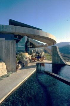"nonconcept:  ""The Elrod House"", Palm Springs by John Lautner."