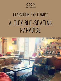 Join me in marveling over the warm, cozy wonder that is the flexible classroom of Rebecca Malmquist. #CultofPedagogy