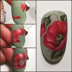 Nails University. Ногти и Маникюр пошагово. Nails & Co, Toe Nails, Nail Manicure, Nails First, Vintage Nails, One Stroke Nails, Flower Nails, Nail Art Designs, Flower Nail Designs