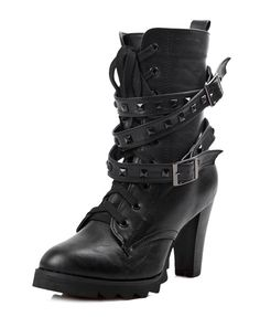 These are incredibly awesome!  Heeled  Boots