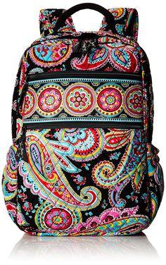 Vera Bradley Tech Backpack Shoulder Handbag, Parisian Paisley, One Size Backpack Purse, Crossbody Bag, Black School Bags, Cute Luggage, My Style Bags, Thing 1, Vera Bradley Backpack, Shoulder Handbags, Cross Body Handbags