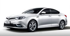 New Release MG6 Facelift 2015 Review Front Side View Model