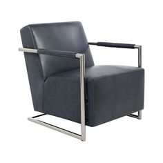 If design is your thing, you're going to love the Stellingham Club Chair. With architectural roots, this appealing club chair is a prime focal point for the elegant living area or home office. A stainl...  Find the Stellingham Club Chair, as seen in the #Mysteriously Modern Collection at http://dotandbo.com/collections/mysteriouslymodern?utm_source=pinterest&utm_medium=organic&db_sku=112038
