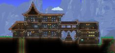 awesome Terraria house
