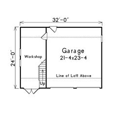 Free Detached Garage Floor Plans