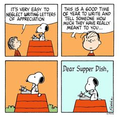 Send a letter to someone you love. Snoopy Love, Snoopy And Woodstock, Peanuts Images, Snoopy Comics, Peanuts Comics, Peanut Pictures, Joe Cool, Snoopy Quotes, Peanuts Snoopy