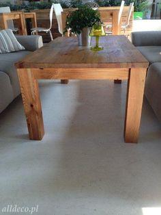 table basse en vieux bois  stare drewno