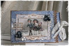 Scrappelyst Christmas Tag, Christmas And New Year, New Year Card, Decoupage, Scrap, Tags, Frame, Vintage, Decor