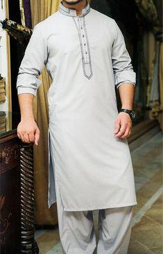 Ash White Shalwar Kameez | Buy Pakistani Indian Dresses