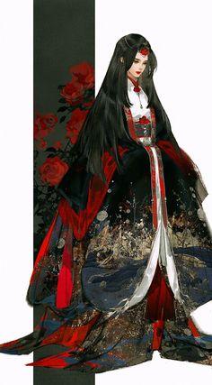 Pinterest Anime Art Girl, Manga Art, Japonese Girl, Japon Illustration, Beautiful Fantasy Art, Samurai Art, Character Design Inspiration, Asian Style, Character Illustration