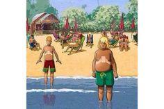 O smartphone e o tablet ficaram marcados na barriga – nv perigo na hora de tomar sol? - Blue Bus