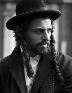 Black Code: Isabel Guyt and Niko Ohlsson as a Hasidic Jew in a Forbidden Romance in Antwerp by Nicoline Patricia Malina for Bazaar Indonesia May 2013