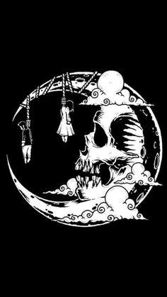 Foto Fantasy, Dark Fantasy Art, Dark Art Drawings, Pencil Art Drawings, Halloween Drawings, Halloween Art, Arte Horror, Horror Art, Skull Tattoos