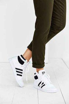 adidas Top Ten Hi Sneaker - Urban Outfitters