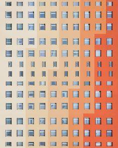 Aleksander Małachowski Explores Symmetry and Minimalism in Poland's Architecture Baroque Architecture, Orange Architecture, Creative Architecture, Architecture Portfolio, Beautiful Architecture, Architecture Design, Wall Exterior, Exterior Design, Zaha Hadid