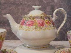Tea pot - could be Mom's Serena Royal Albert