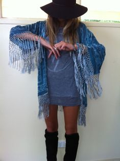 moonsiren:    Someday I will have a shawl-jacket thing like this.