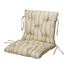 This would be great for the swinging bench and then some decorative pillows on top! Outdoor furniture cushions - IKEA