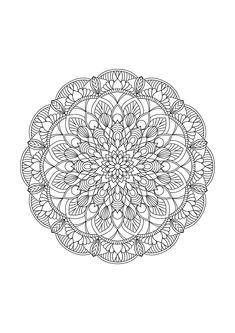 Instant Download adult colouring page pattern 6   Etsy Doodle Coloring, Mandala Coloring Pages, Coloring Book Pages, Free Adult Coloring, Trippy Drawings, Printable Pictures, To Color, Art Pages, Mandala Art