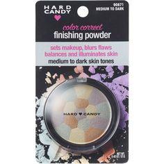 Hard Candy Color Correct Finishing Powder, Medium to Dark Skin Tones, .42 oz