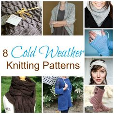 If the air hasn't started to cool down where you live, it most likely will be in no time at all. Make sure your wardrobe is prepared by knitting some of these fun pieces to use and wear. Th…