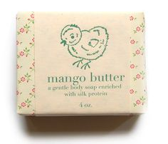 mango butter soap from Pink Olive - $12.00